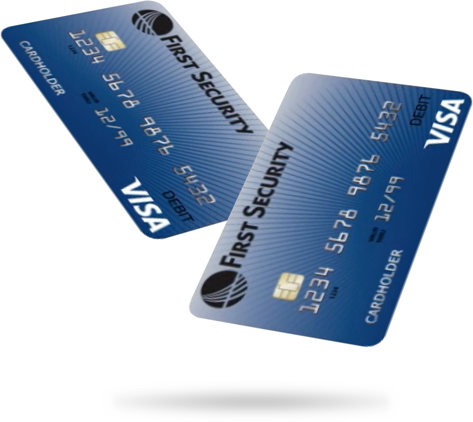First Security debit cards